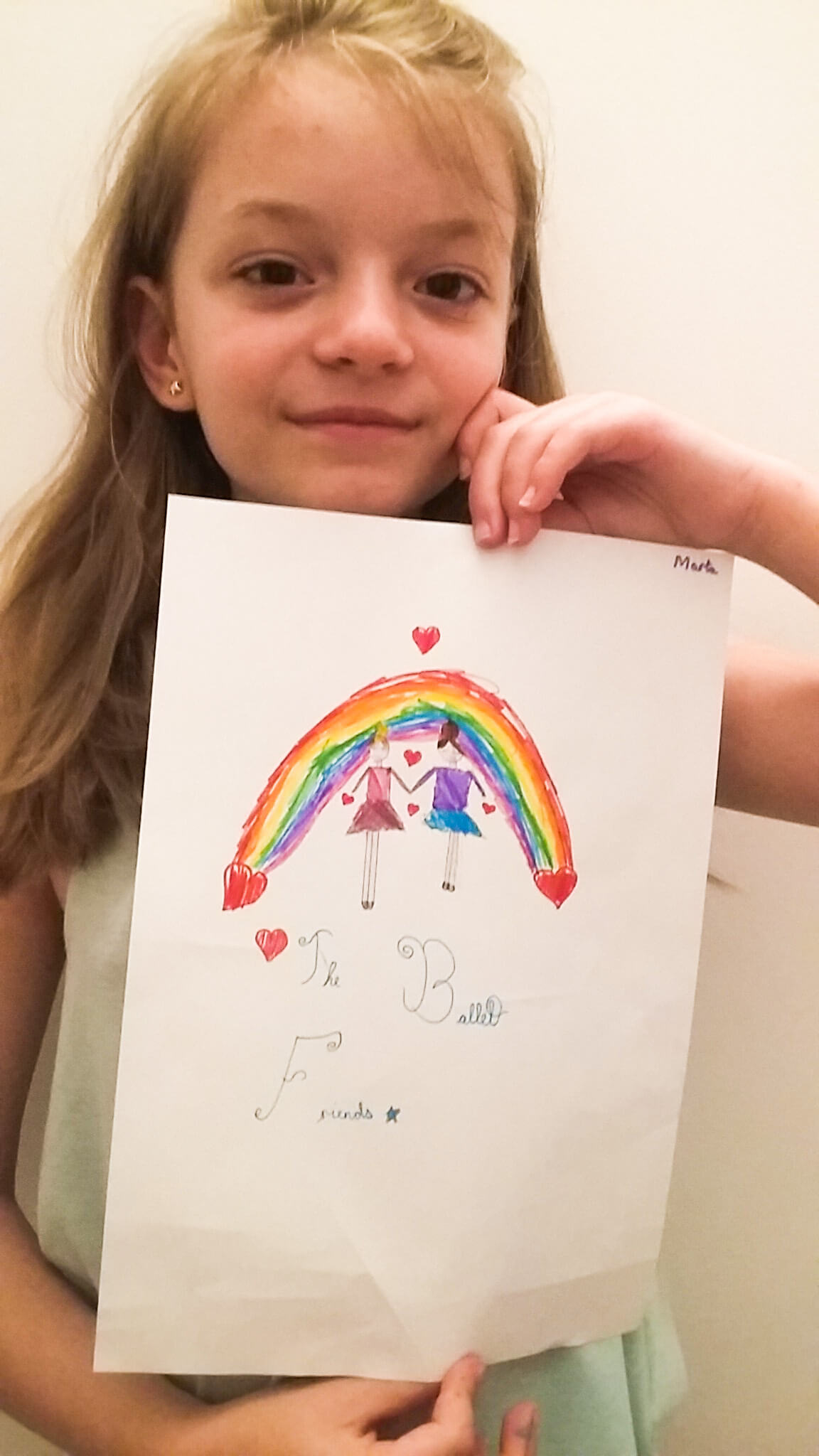 Marta Diumia. Grade 2