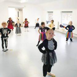 Skylark School of Dance Halloween workshop8